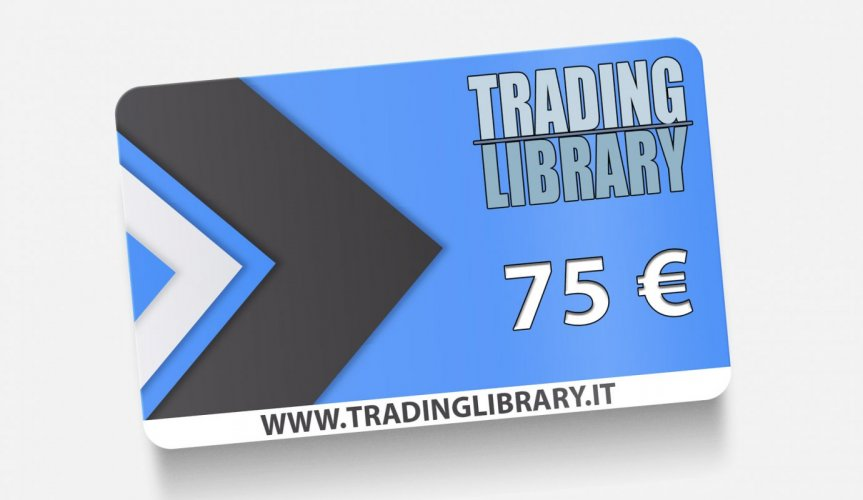 GIFT CARD 75 EURO - TRADING LIBRARY