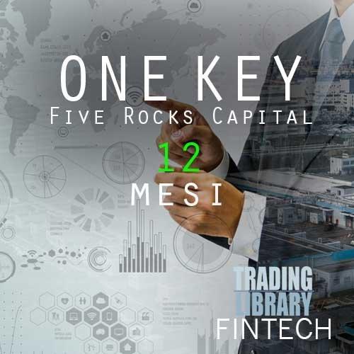 FiveRocksCapital - Servizio One Key - 12 Mesi