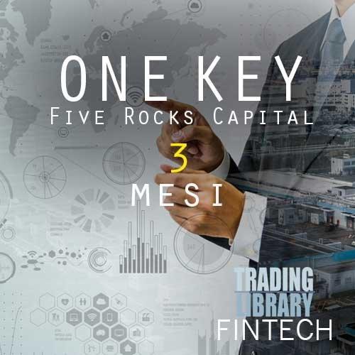 FiveRocksCapital - Servizio One Key - 3 Mesi